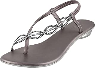 Mochi Women's Chikoo Fashion Sandals