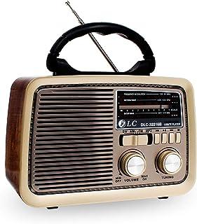 راديو من دي ال سي بتقنية بلوتوث وSD وUSB وفتحة لوضع AUX