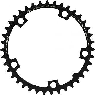 Plateau STRONGLIGHT 5 bras boulon cercle 130 mm noir-argent 7075 toutes les tailles