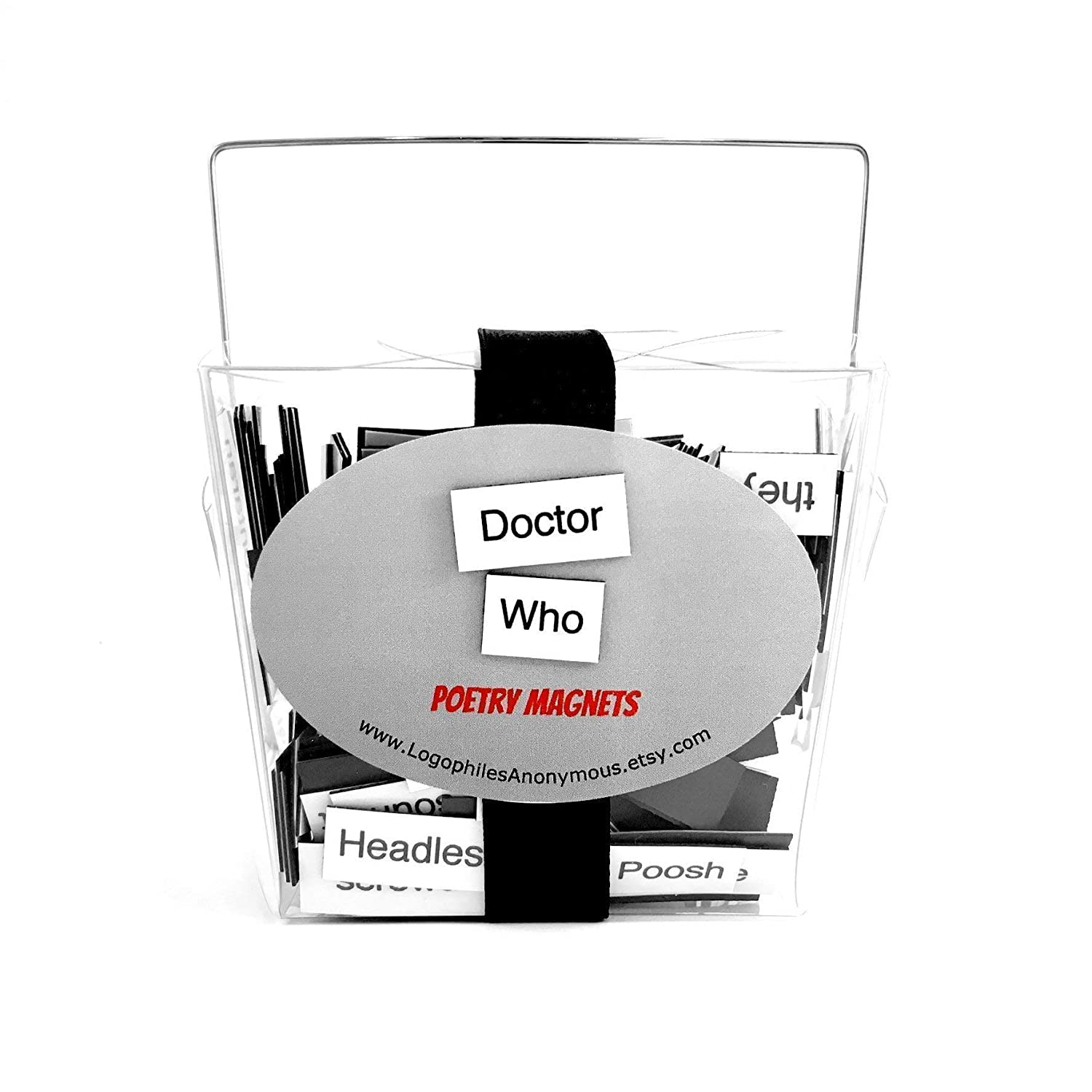 Doctor Who El Paso Mall Poetry Magnets Magnet Ranking TOP11 Gifts Fridge