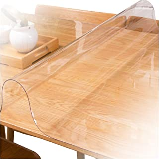 Clear Chair Mat Hard Floor Protector for Office And Home, Waterproof Anti-Oil 1.5/2.0/3.0mm Clear Table Covers Can Be Form...