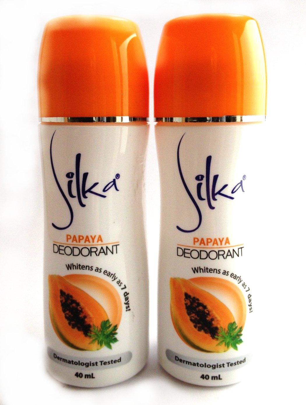 New color Silka Papaya Max 47% OFF Whitening Deodorant Perspirant Anti