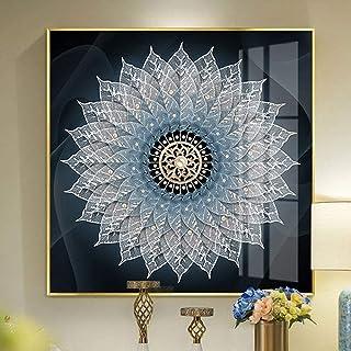Équipement de vie peinture toile mat papier matériel en alliage d'aluminium cadre peinture décorative peintures murales sa...