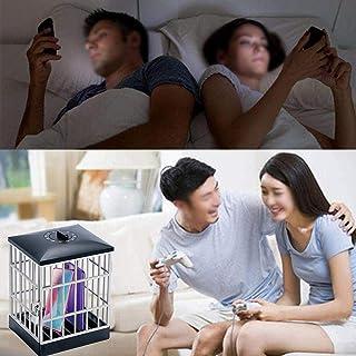Fiaoen Cárcel para teléfono celular con temporizador, teléfono móvil, cárcel de teléfonos celulares con bloqueo seguro par...