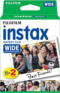 Instax Film Single PK (20 Sheets Gloss) Suitable for Instax 210wide & Instax 300wide