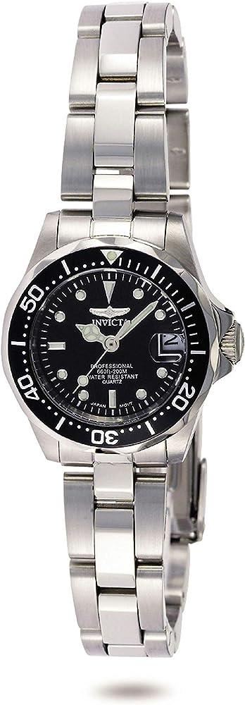 Invicta pro diver orologio da donna acciaio inossidabile 8939