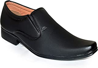 feetway Men's Leather Formal Shoes
