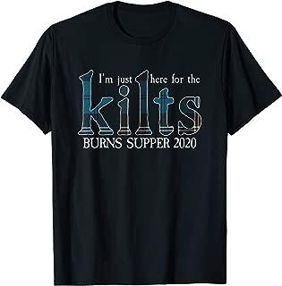 Robert Burns Supper Night 2020 Ramsey Tartan T-Shirt