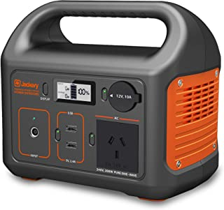 Jackery Portable Power Station Explorer 240, 240Wh Solar Generator, 240V/200W Pure Sine Wave AC Outlet for Outdoors Campin...