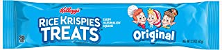 Kellogg's Rice Krispies Treats, Crispy Marshmallow Squares, Original, Bulk Size, 72 Count (Pack of 6, 26.4 oz Trays)