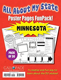 All About My State-Minnesota FunPack (30): A FunPack of Poster Pages for Creative Learning Fun! (Minnesota Experience)