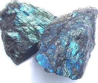 EnergyHealingMarket Rough Labradorite Crystal Aura Protection Spiritual Development Healing Transformation Reiki Infused