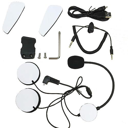 Accessoires Pour Veetop BT Intercom / Microphone, Câble audio, Clip ,Velcro