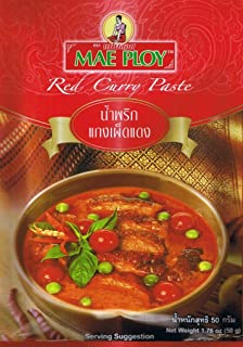 Mae Ploy Thai Red Curry Paste 50g