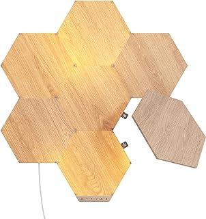 Nanoleaf Elements Wood Look Hexagons Starter Kit - 7 Panels