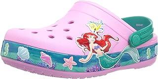 Crocs Kids' Crocband Disney's The Little Mermaid Princess Ariel Clog