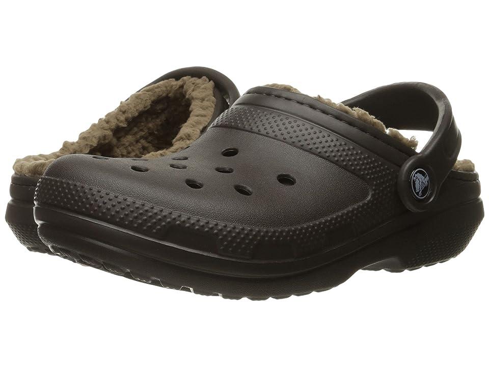 Crocs Classic Lined Clog (Espresso/Walnut) Clog Shoes