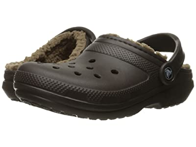 Crocs Classic Lined Clog (Espresso/Walnut) Clog Shoes
