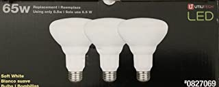 Utilitech 3-Pack 65 W BR30 Equivalent 8.5W Dimmable Soft