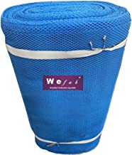 Wefab Cancan Mesh Tulle 50 GSM Net Fabric for Boutique Sewing Fashion Craft Project (Royal Blue, 5 Meter)
