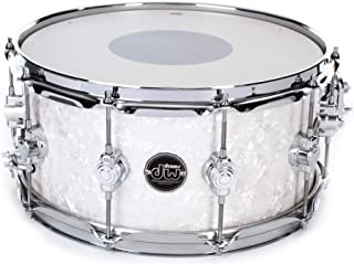 DW Performance Series Snare Drum - 6.5 Inches X 14 Inches White Marine Finish Ply