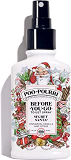 Poo-Pourri Before-You-Go Toilet Spray, Secret Santa Scent, 4 oz