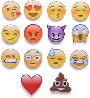 Emoji Magnets Fridge Magnets Refrigerator Magnets Funny Kitchen Cute Magnets Decorative Whiteboard Magnets Smile Face