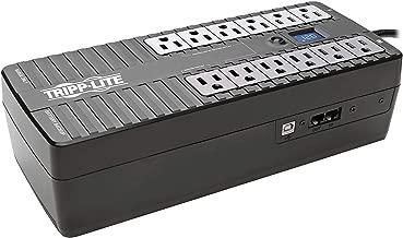 Tripp Lite 850VA UPS Battery Backup, LCD, 425W Eco Green, USB, RJ11, 12 Outlets, 3 Year Warranty & $100,000 Insurance (ECO850LCD)