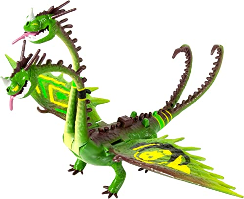 DreamWorks Dragons  How to Train Your Dragon 2 - Zippleback Power Dragon with Special Racing Stripes (Wacky Flex Necks)