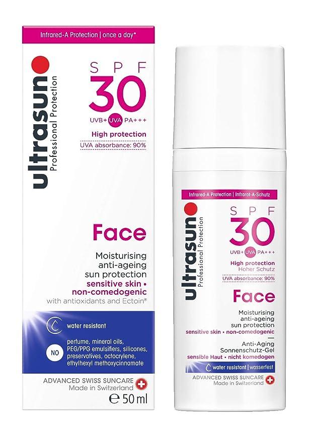 完全に資産輸血アルトラサン 日焼け止めローション フェイス UV 敏感肌用 SPF30 PA+++ トリプルプロテクション 50mL