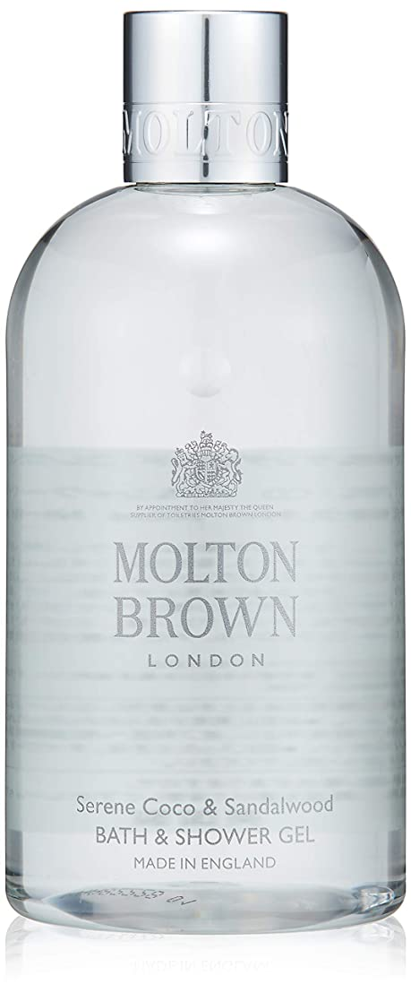 ライン暗記するパイルMOLTON BROWN(モルトンブラウン) ココ&サンダルウッド コレクション CO バス&シャワージェル