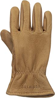 red wing nutmeg buckskin leather gloves