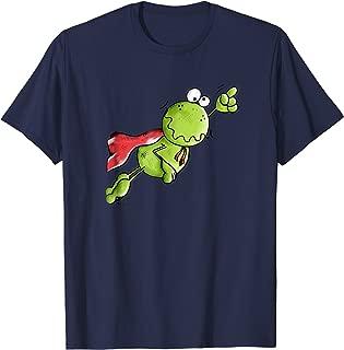 Super Frog Shirt I Hero Frogs T-Shirt I Cool Cartoon Gift