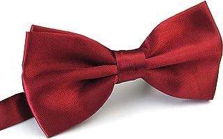کراوات کراوات مردانه قبل از ازدواج AWAYTR برای جشن عروسی Fancy Plain Adjustable Buit Necktie
