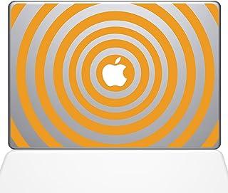 "The Decal Guru 2048-MAC-15X-SY Music Waves Decal Vinyl Sticker, Yellow, 15\"" MacBook Pro (2016 & Newer)"