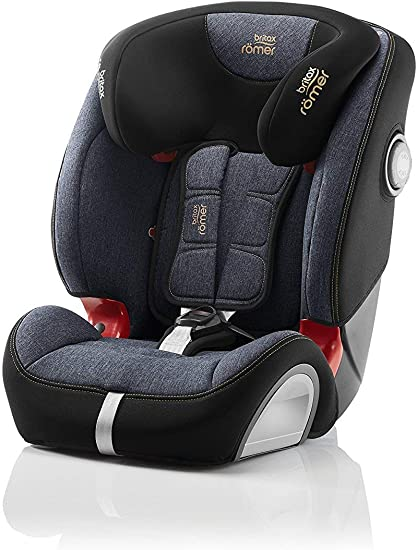 Britax Römer car seat 9-36 kg, EVOLVA 123 SL SICT Isofix group 1/2/3, Blue Marble: image