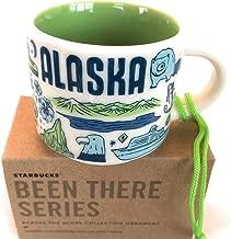 ALASKA Starbucks Been There Series 2 Oz Ornament Espresso Mug/Cup