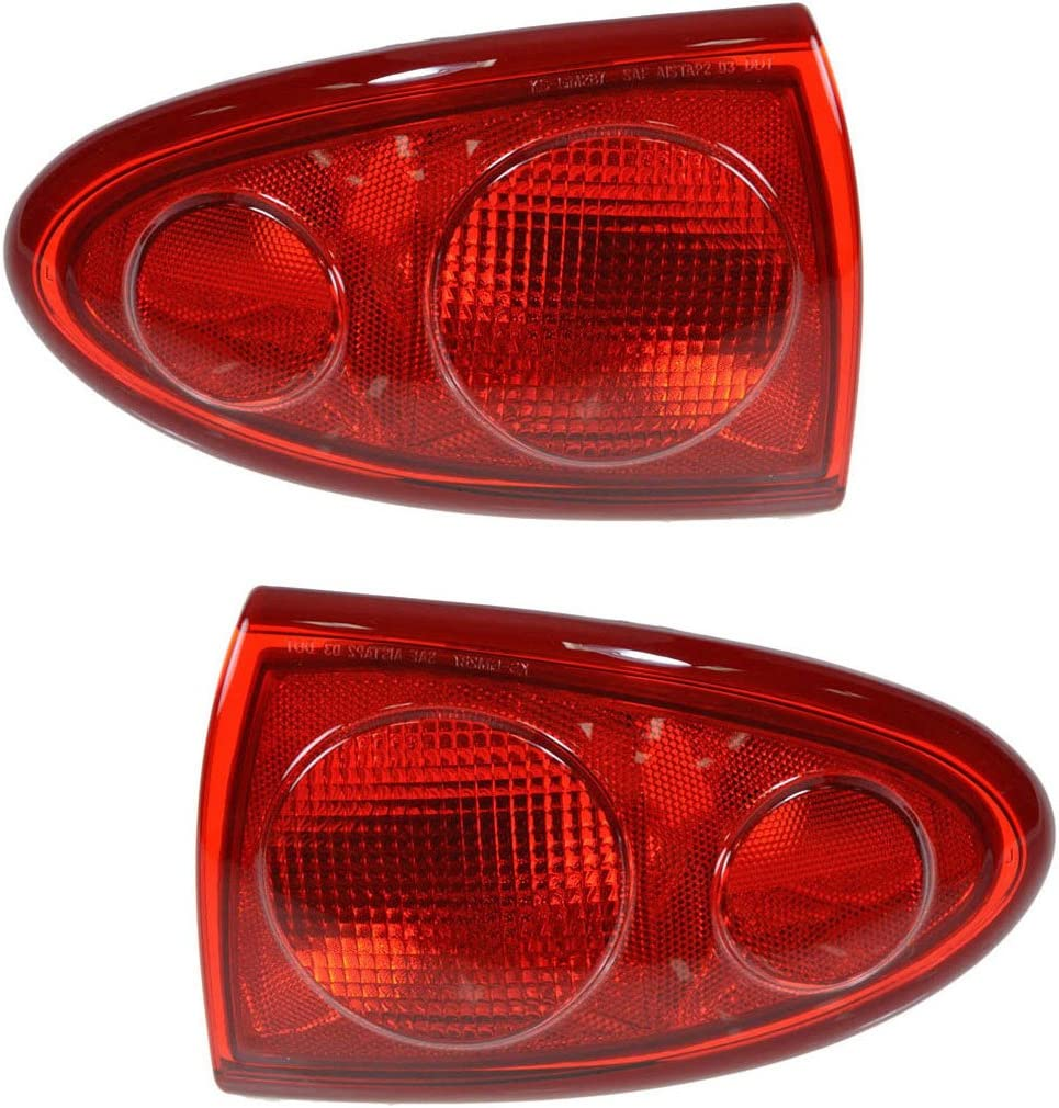Taillights Taillamps Quarter Mounted Dallas Mall Pair Set Baltimore Mall 03- Brake Rear for