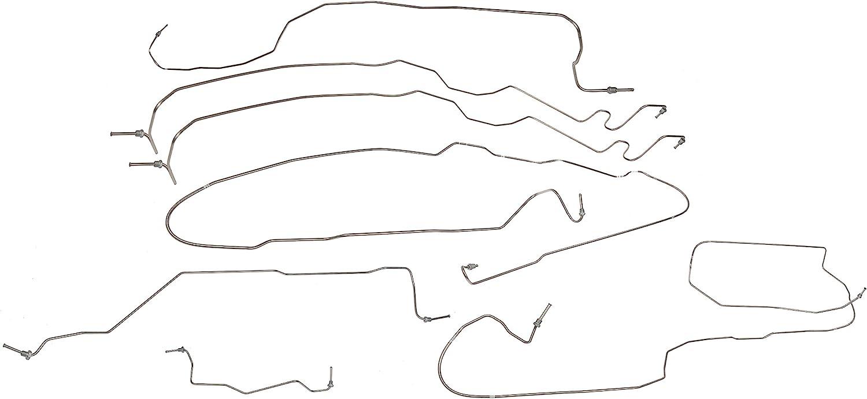Popular popular Dorman 919-142 Brake Hydraulic Line for Cheap mail order sales Kit Select Chevrolet G