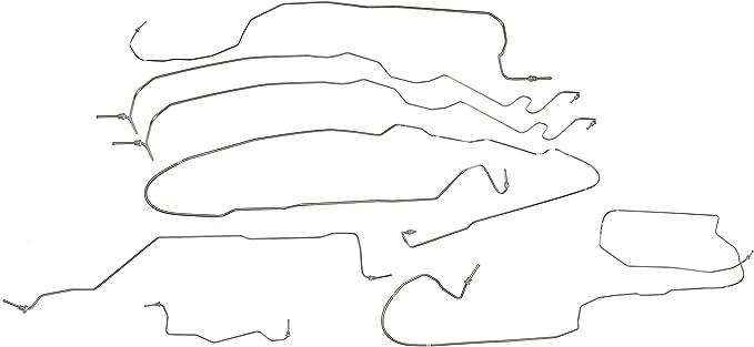 Dorman 919-107 Brake Hydraulic Line Kit for Select Chevrolet/GMC Models (OE FIX): image