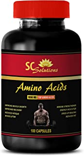 Workout Supplements for Men Pills - Amino ACIDS 1000MG - TOP Amino ACIDS - Amino acids Supplements Pills - 1 Bottle 100 Capsules