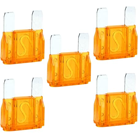 24 Pack Large MAXI APX Blade Fuse Assortment Auto Car Truck SUV AMP FUSES Kit
