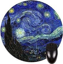 Artist Vincent Van Goghs Starry Night Over the Rhone Painting-Print Design TM School Messenger Bag
