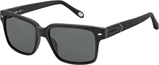 Fossil FOS 2041/S FOS2041SKUN55R6 Square SunglassesBK MTTBLK55 mm