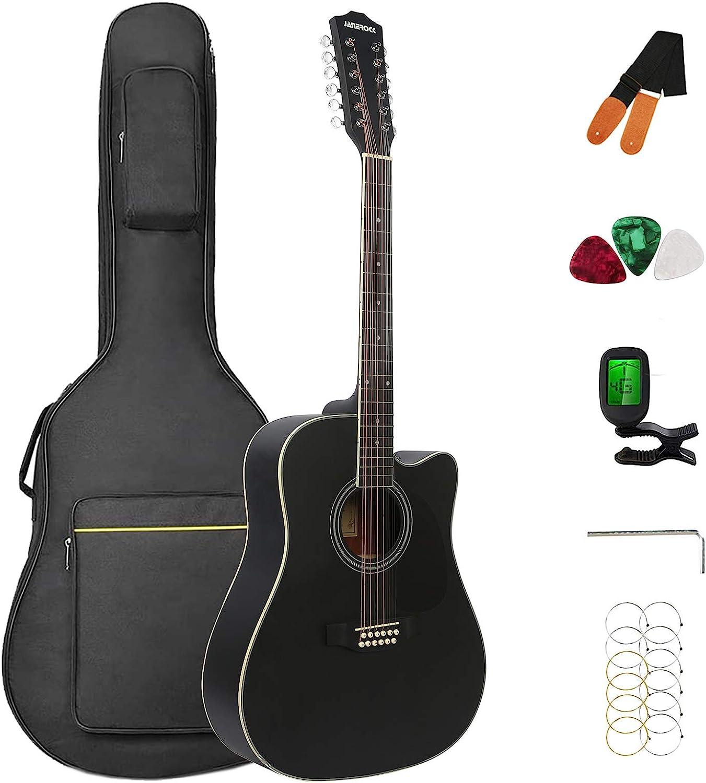 rock 12 String Acoustic Guitar