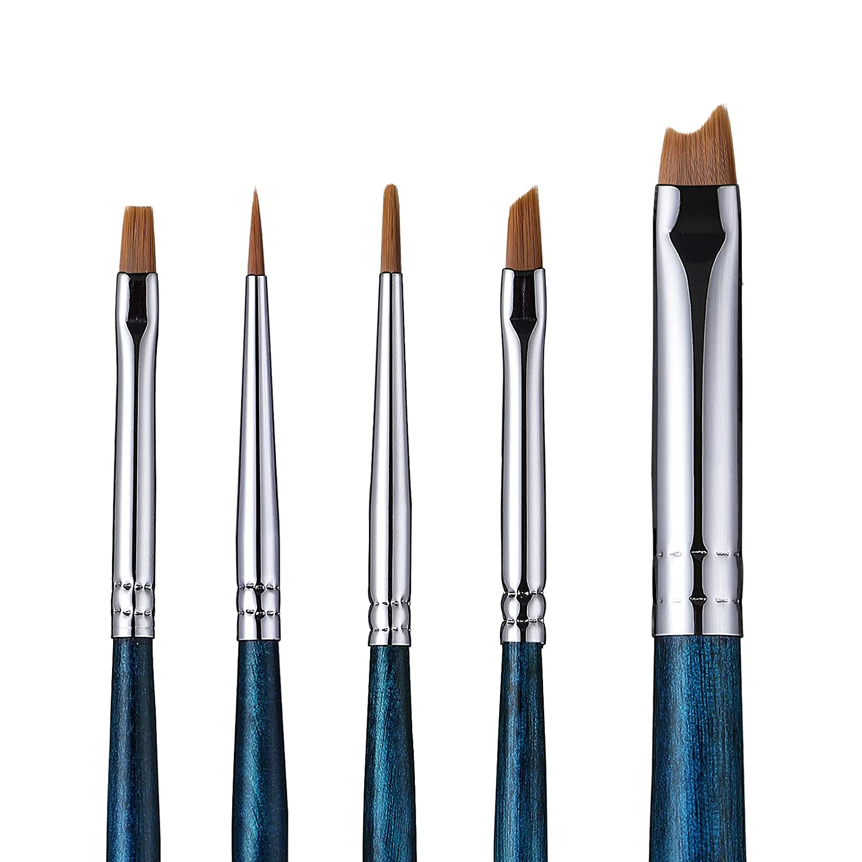 Eyeliner Brush Set Selling and selling Eyes Makeup Sales Brushes Fine Pieces Winged Kit 5