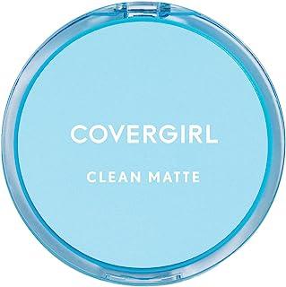COVERGIRL Clean Matte Pressed Powder Classic Ivory Warm 510 .35 oz