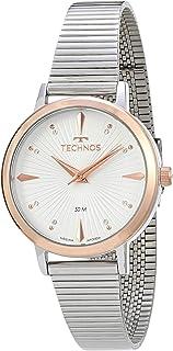 Relógio Technos, Pulseira de Aço Inoxidável, Feminino Prata 2036MJX/K5B