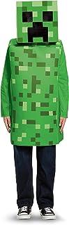 Minecraft Creeper DISK65642K Classic Mojang Costume, Boys, Green, Medium