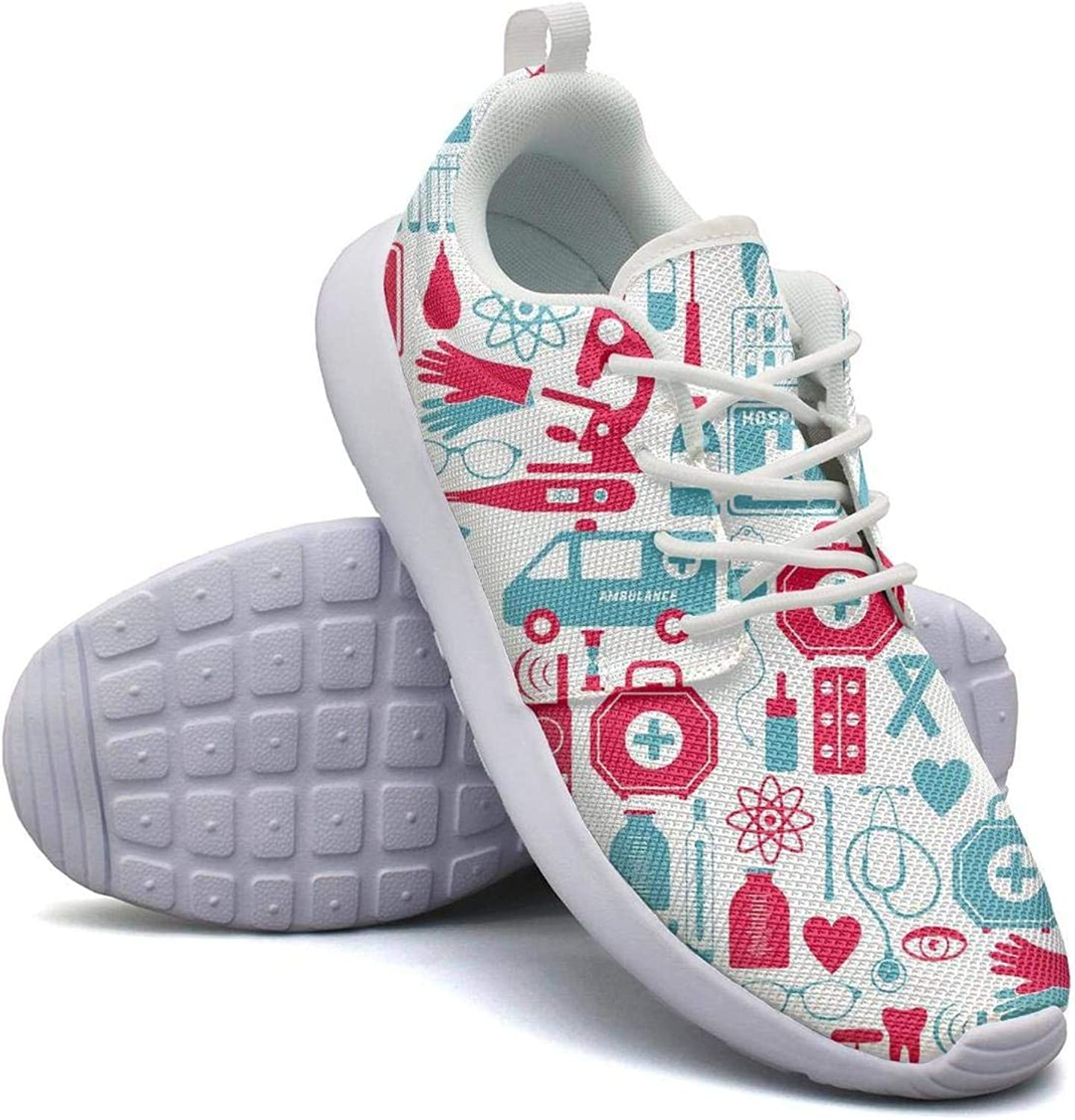 Amazon.com: Medical icons health care syringe Running Shoe Casual Sneakers  Womens Shoes: Clothing